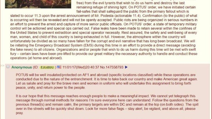 Deep State War: 4Chan Alert on Podesta, Arrests, Antifa