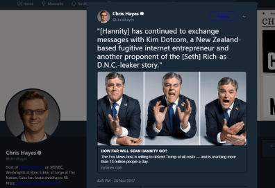 Chris Hayes is so fucking boned. Pray to Hillary,snowflake, Not sure God will hear you.