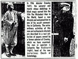 alester-crowley-and-L-Ron-Hubbard2