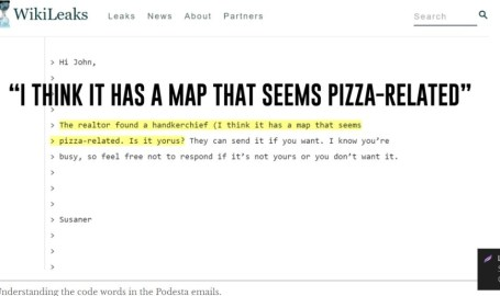 Map and pizza are code words for pedophiles. MAP means Minor Attracted Persons., e.g.