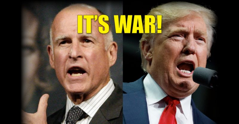 "Trump Prepares To Declare California ""In State Of Rebellion""—Then Establish New Government"