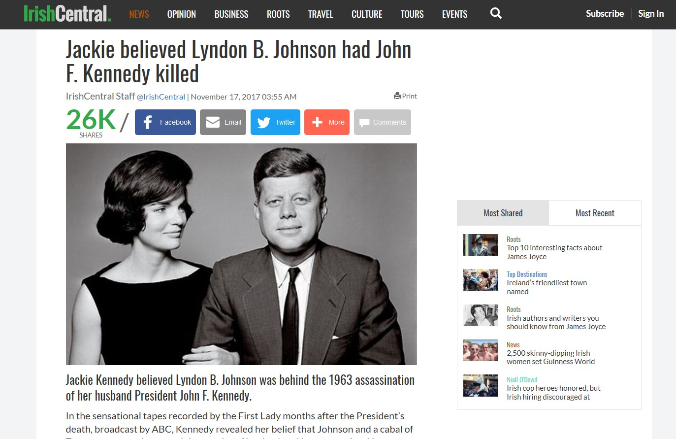 LBJ Ordered CIA Hit on Robert F. Kennedy. Who Else Was Involved?