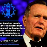 Secret war centers on SWIFT after George Bush Sr. is executed