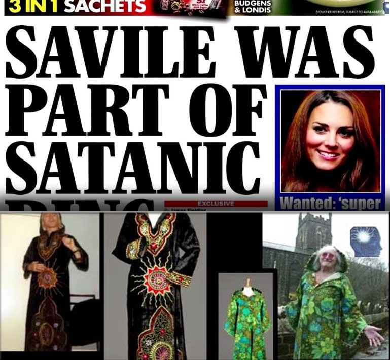 Saville's Satanic Ring