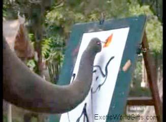 Actual Elephant Art vs. Jackson Pollack