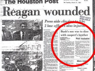 The Bush Role in Kennedy Assassination, Reagan Shooting