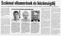 Az év orvosa Oberna Ferenc