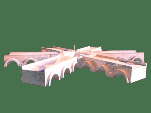 Hexagon Styled Bridge