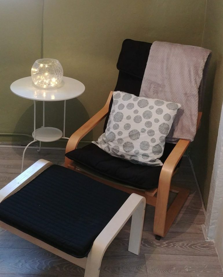 Implicity Hypnotherapy Consulting Room