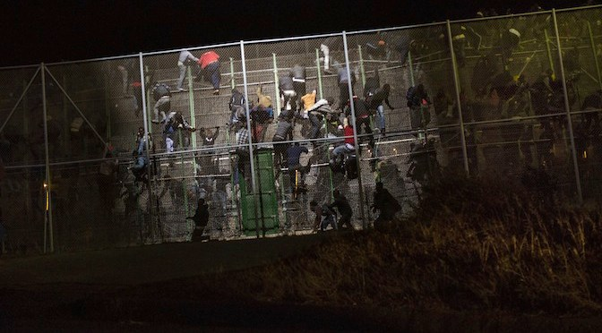 Evelyn Marsters, Melilla border, migration, Impolitikal