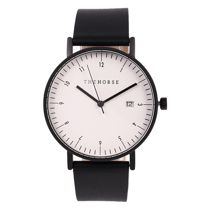腕時計 ブラックベルト