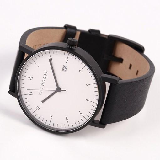 時計ブラックベルト
