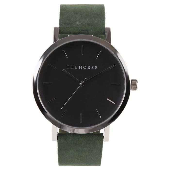 グリーンベルトの腕時計