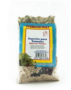 Especies para tamales
