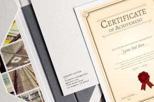 Panduan Memilih Kertas untuk Sertifikat dan Piagam Penghargaan