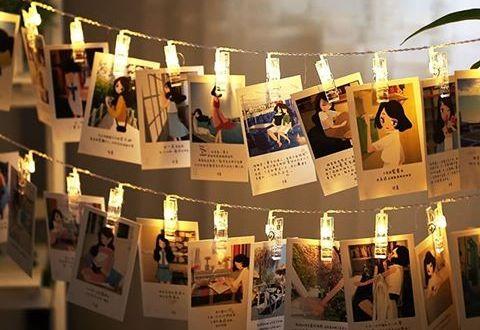 Menambah kan foto-foto di sepanjang sisi lampu tumblr - Ini4 Cara Membuat Lampu Tumblr Terlihat Lebih Cantik - websta.one