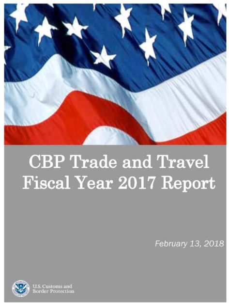 CBP FY2017 Trade Travel Report