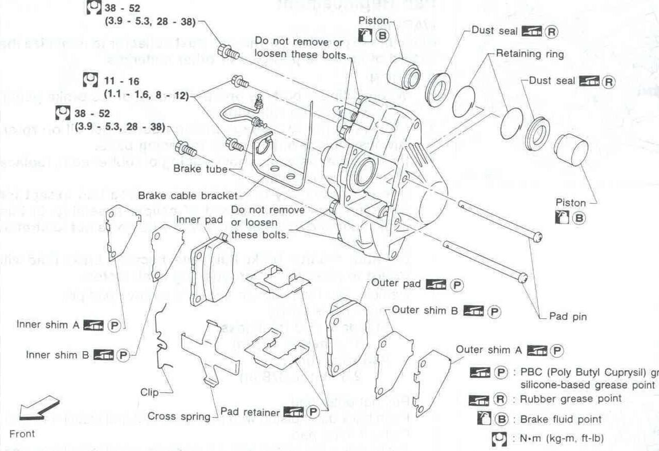 The Definitive 300zx Brake Swap