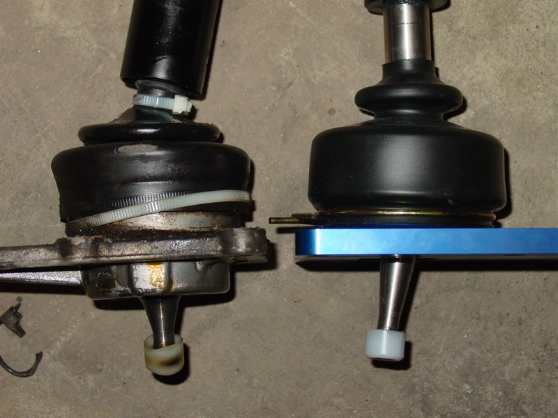 Most aftermarket shifters cannot offer much of a change given the fact that it is difficult to change the length of the bottom portion of the shifter. B&M was able to do this by including the new top plate.