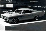 I was playing with black and white film back when I originally built this car.