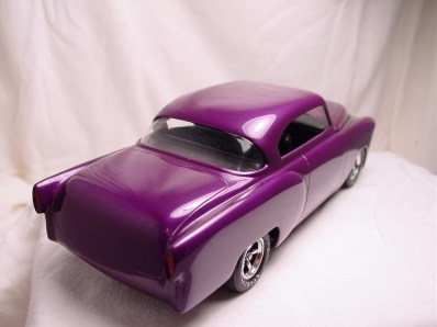 The tail lights were also frenched. I used the custom rear valence and blended it into the back of the kit.