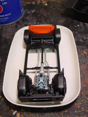 Chassis and engine layout.