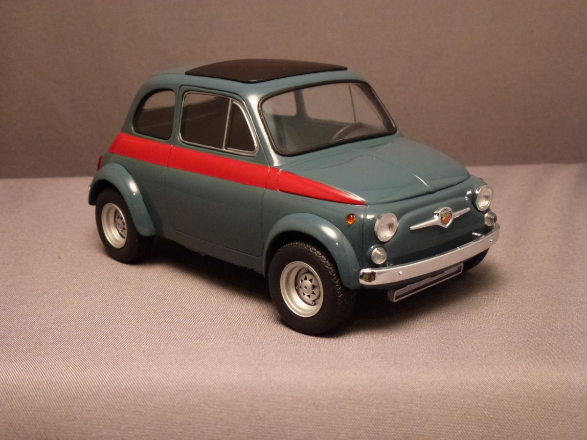 Fiat Abarth 695 esse esse - Tamiya