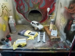 As always, I hate to pass up on the opportunity to spray several kits worth of parts when I've filled my airbrush.