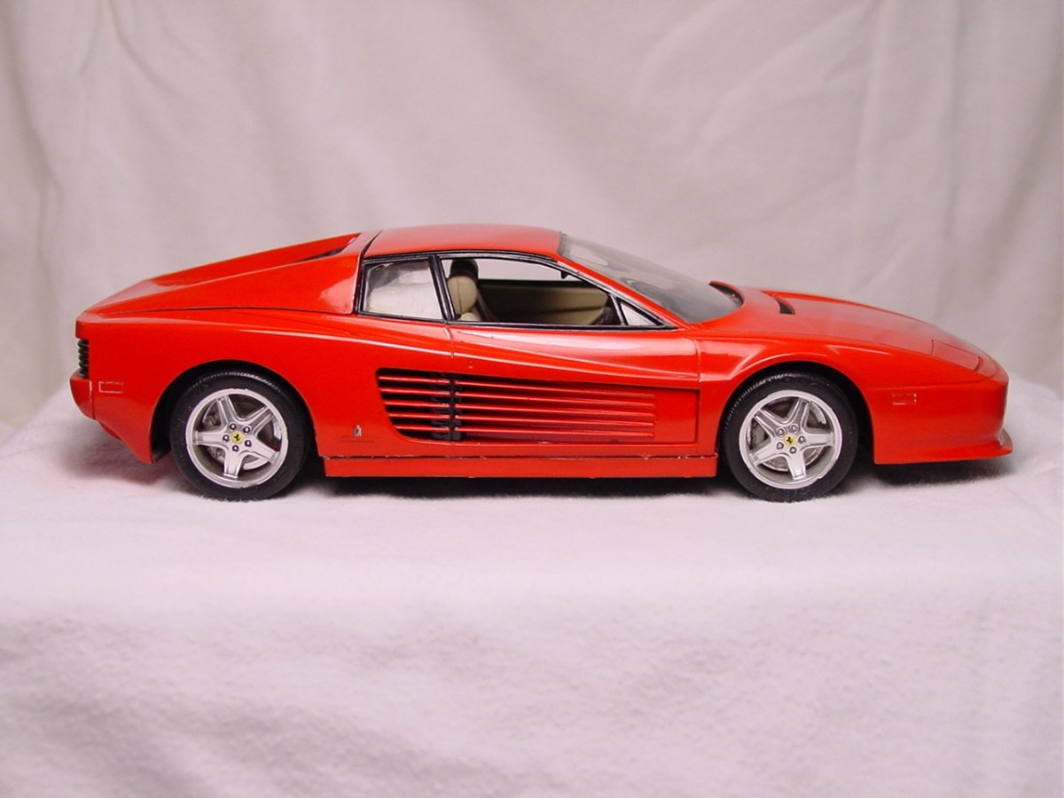 Ferrari Testarossa 512 TR - Monogram
