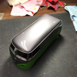 After a week of curing, I sanded and polished the bus. It turned out very well.