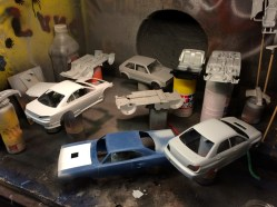 After making solid progress with the 928, I was motivated to get busy with a few other projects. Plenty of parts now in primer!