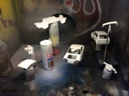 I realized that I really needed white primer for light/white colored paint.
