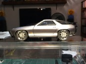 The finished 928's stance is perfect! The wheels made a huge improvement to the look of this model.