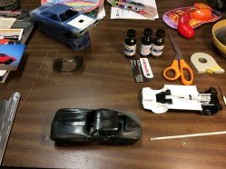 '65 Vette body prep work has begun!