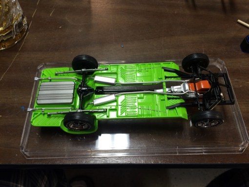 The Superbird chassis was completed and looking great!