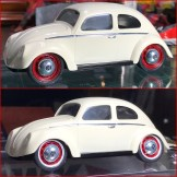 Although the wheels need to be stripped, the white lip of the wheels really adds to the took of the big wheels.