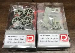 I ordered a set of Plamoz Z28 wheels and brake kit.