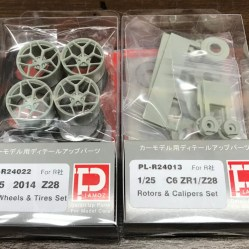 I ordered a set of Plamoz Z28 wheels and brake kit.