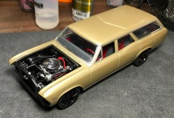 With the body, interior and chassis complete, it was time to finish the details.