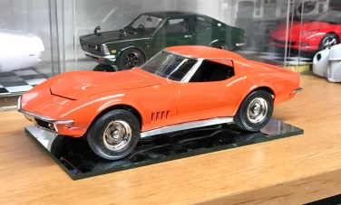 Just like that, the Corvette was finished.