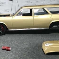 The Chevelle was moving along albeit slower than I would like. The chassis assembly and suspension were more challenging than expected.