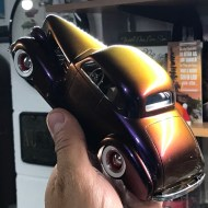 Just a reminder that this is color changing paint!