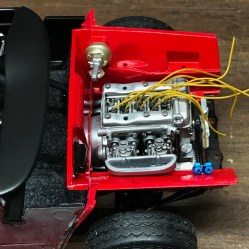 The Alfa's twin spark engine simply had to have wiring.