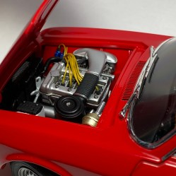 The Alfa's engine looks great!