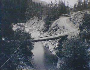 Beartooth mine access bridge