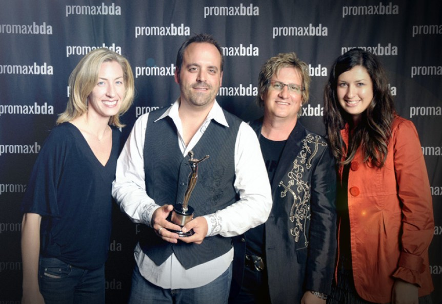 Promax Award group photo