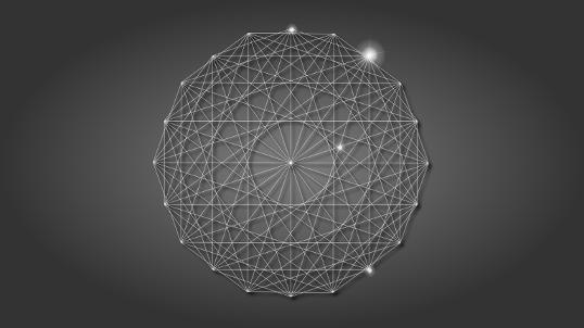 Fond d'écran géométrique 01