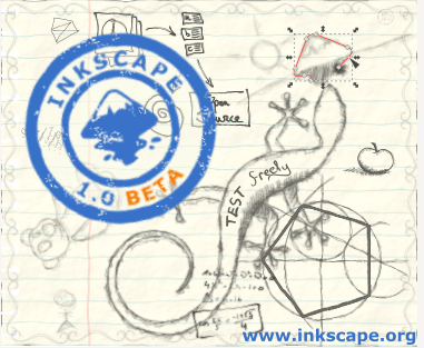 Inkscape version 1 beta 1