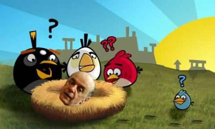 José Serra decide se aposentar e diz que sua preocupação agora é zerar angry birds