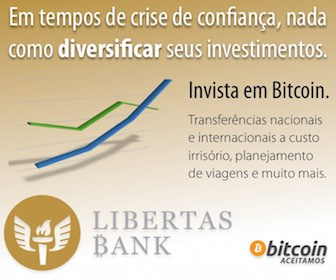 Bitcoin é no Libertas Bank